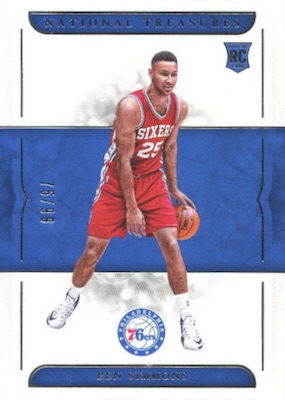 Top Ben Simmons Rookie Cards 12
