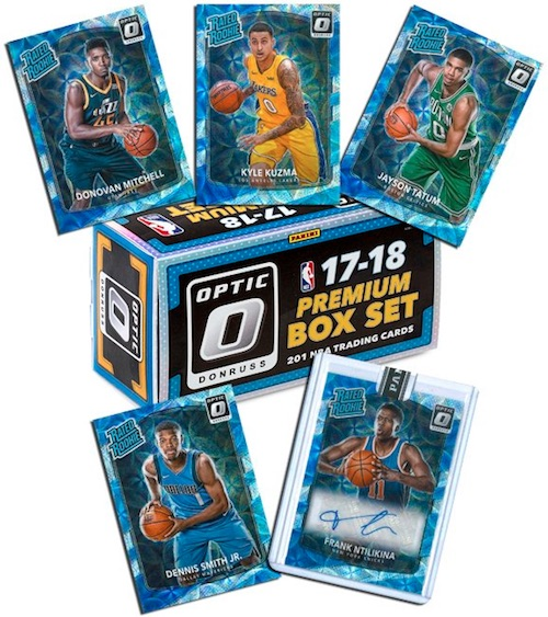 2017-18 Donruss Optic Basketball Premium Box Set 1