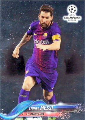 2017-18 Topps Chrome Champions League Variations Guide 1