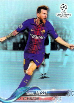 2017-18 Topps Chrome Champions League Variations Guide 2