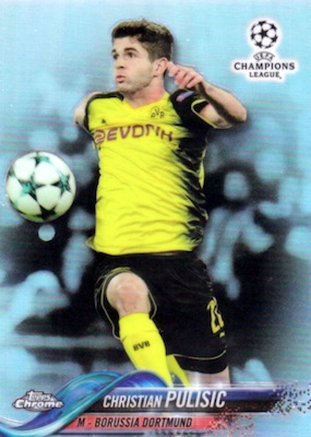 2017-18 Topps Chrome Champions League Variations Guide 4