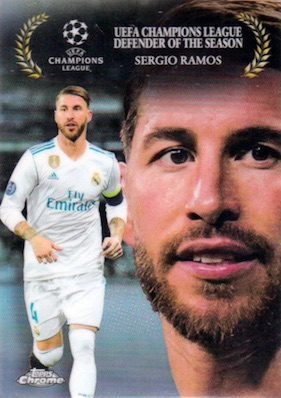 2017-18 Topps Chrome UEFA Champions League Soccer Cards 30