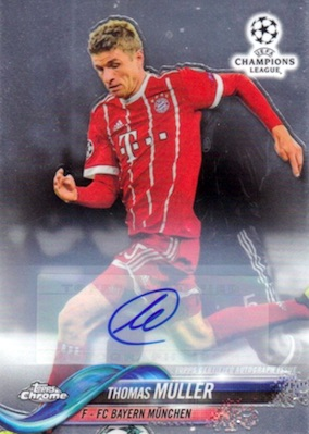 2017-18 Topps Chrome UEFA Champions League Soccer Cards 6