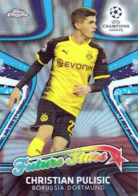 2017-18 Topps Chrome UEFA Champions League Soccer Cards 31