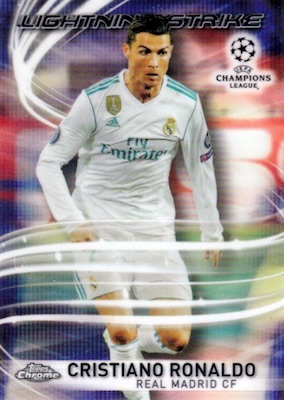 2017-18 Topps Chrome UEFA Champions League Soccer Cards 5