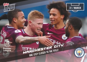 2017-18 Topps Now Premier League Soccer Cards 31