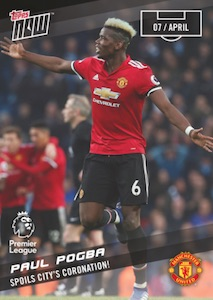 2017-18 Topps Now Premier League Soccer Cards 32