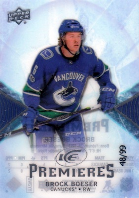 2017-18 Upper Deck Ice Hockey Cards 25