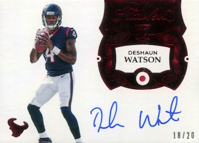 Top Deshaun Watson Rookie Cards to Collect 6