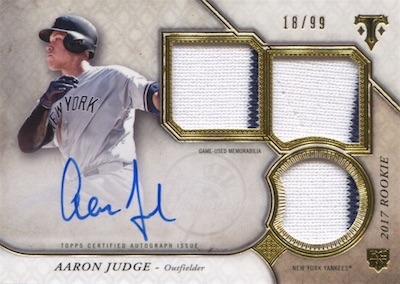 Aaron Judge Rookie Cards Checklist and Key Prospects 81