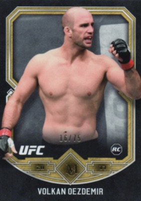 2017 Topps UFC Museum Collection MMA Cards 23