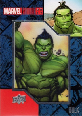 2017 Upper Deck Marvel Annual Trading Cards 5