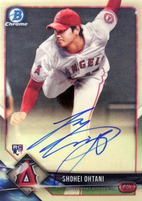 Shohei Ohtani Rookie Cards Checklist and Gallery 3