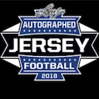 2018 Leaf Autographed Football Jersey Edition