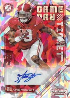 2018 Panini Contenders Draft Picks Football Cards 29