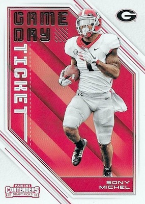 2018 Panini Contenders Draft Picks Football Cards 28