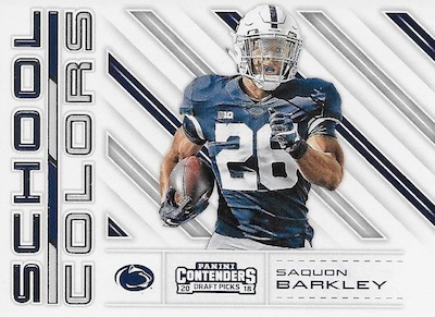 2018 Panini Contenders Draft Picks Football Cards 31
