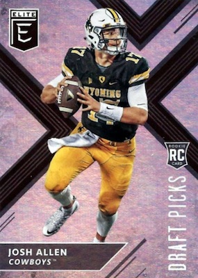 2018 Panini Elite Draft Picks Football Cards 23