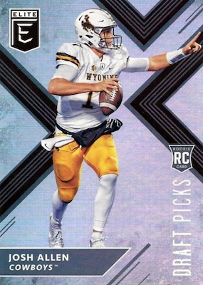 2018 Panini Elite Draft Picks Football Cards 24