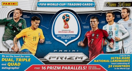 2018 Panini Prizm World Cup Soccer Cards 38
