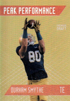 2018 Sage Hit Premier Draft High Series Football Cards 24