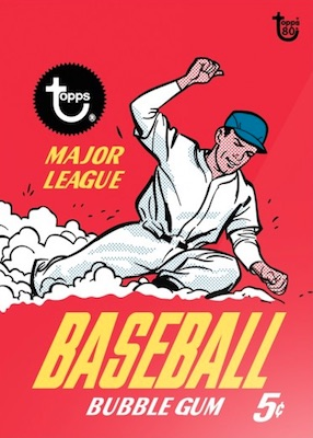 2018 Topps 80th Anniversary Wrapper Art Cards Gallery 19