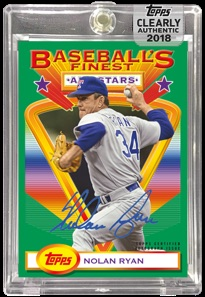 2018 Topps Clearly Authentic Baseball