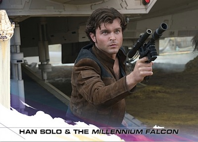 2018 Topps Countdown to Solo: A Star Wars Story Trading Cards Gallery 3