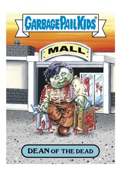 2018 Topps Garbage Pail Kids Oh, The Horror-ible