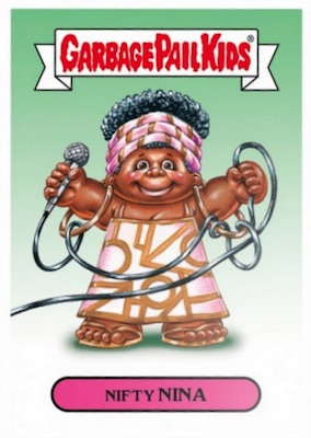 2018 Topps Garbage Pail Kids Rock & Roll Hall of Lame Trading Cards 3