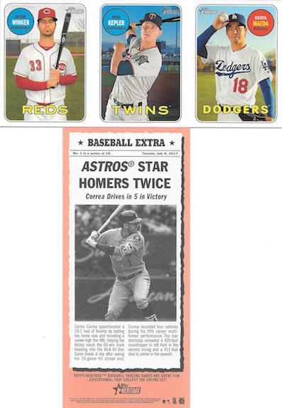 2018 Topps Heritage Baseball Cards 42