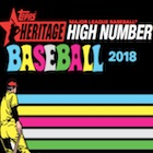 2018 Topps Heritage High Number Baseball Cards