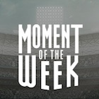 2018 Topps Now Moment of the Week Baseball Cards - Moment of the Year
