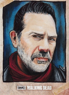 2018 Topps Walking Dead Road to Alexandria Trading Cards 31