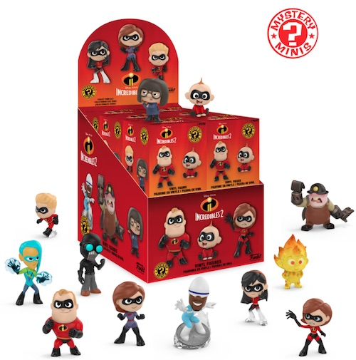 Funko Mystery Minis The Incredibles 2 Underminer 1//12
