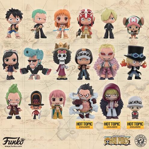 Funko One Piece Mystery Minis