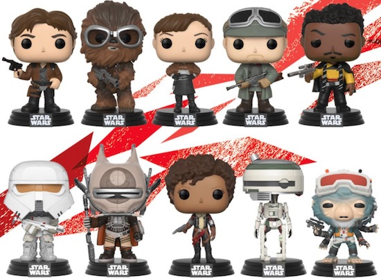 Funko Pop Star Wars Solo Vinyl Figures 1