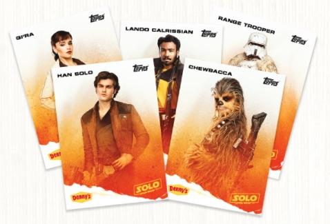 Topps Denny's Solo Star Wars