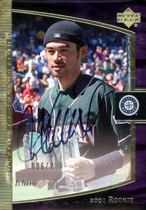 Collect the Best Ichiro Suzuki Rookie Cards 12