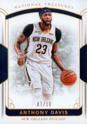 2017-18 Panini National Treasures Basketball