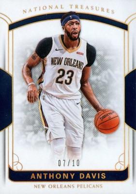 2017-18 Panini National Treasures Basketball Cards 22