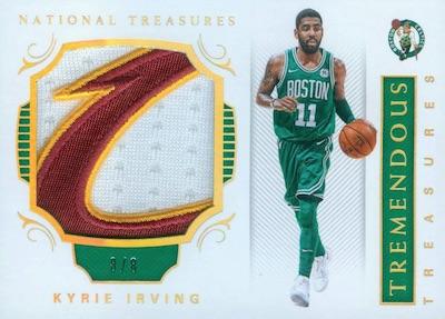 2017-18 Panini National Treasures Basketball Cards 37