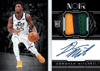 2017-18 Panini Noir Basketball