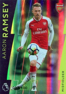 2017-18 Topps Premier League Platinum Soccer Cards 3