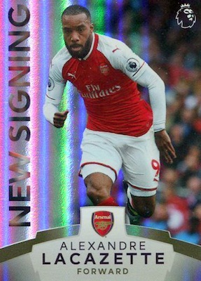 2017-18 Topps Premier League Platinum Soccer Cards 26