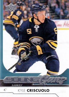 2017-18 Upper Deck Young Guns Guide and Gallery 122