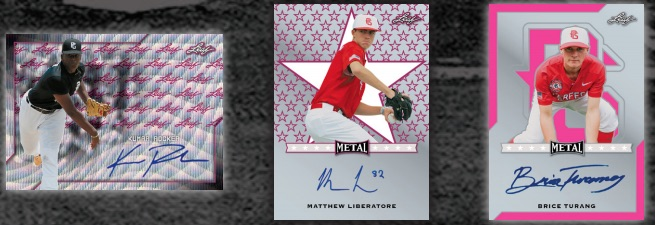 2017 Leaf Showcase Baseball Vault Cards 3