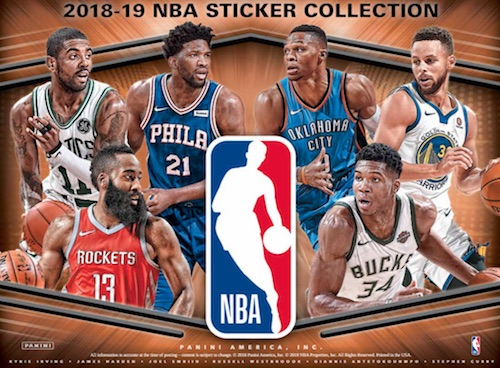 2018-19 Panini NBA Stickers Collection Basketball Cards 3