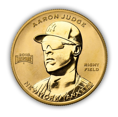 2018 Baseball Treasure MLB Coins 2