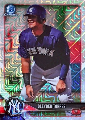 2018 Bowman Chrome Mega Box Variations Guide 19